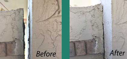 Seperation of walls needs pressure grouting offered in osceola fl,lake fl,orange county fl,seminole fl